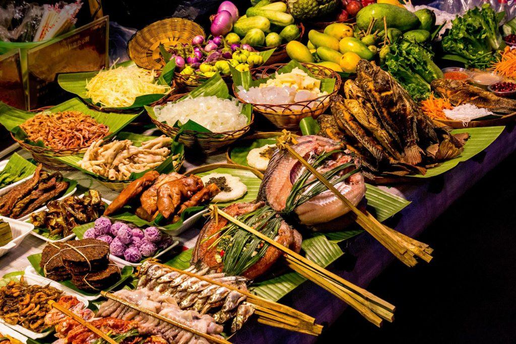 Еда в Китае не отличается разнообразием