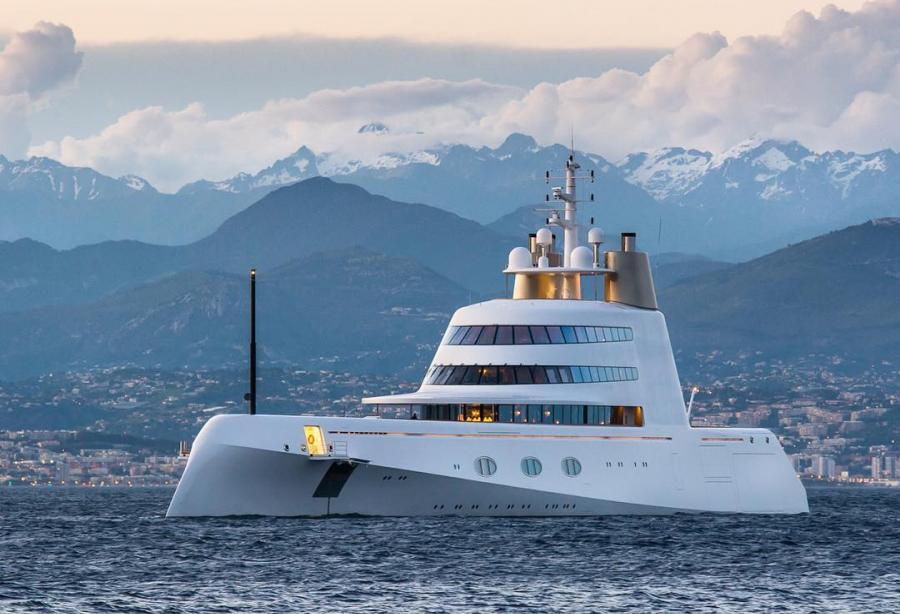 Андрей Мельниченко: Motor Yacht A ($440 млн)