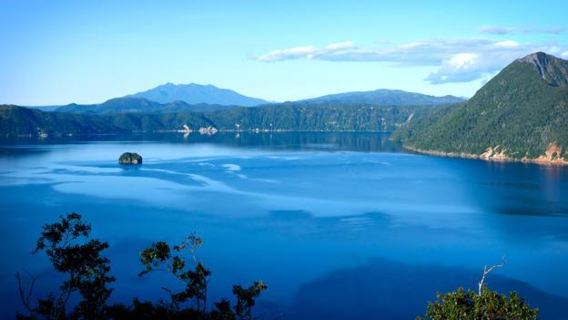 Озеро Масю, Япония