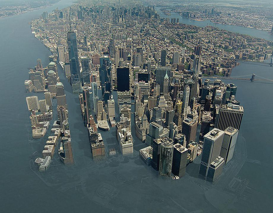 Океаны могут подняться на 0,7 м к 2100 году