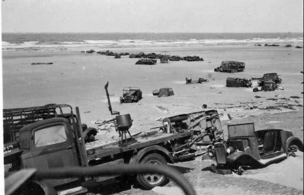 Британская техника, брошенная в Дюнкерке, позже оказалась в России