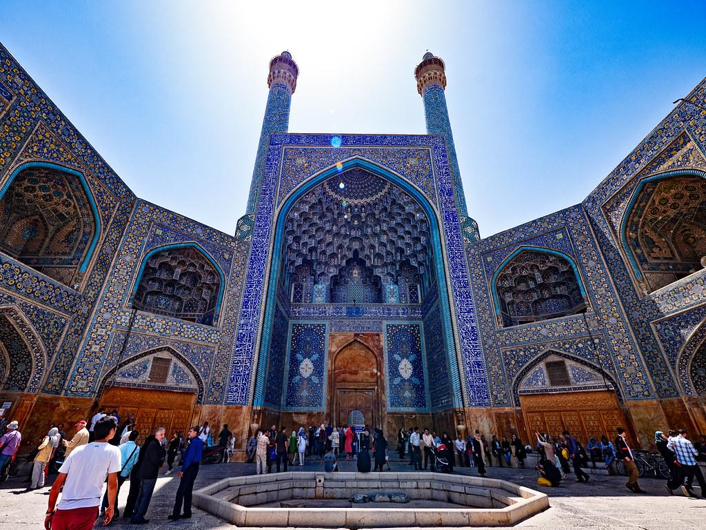 Мечеть Имама в Исфахане, Иран