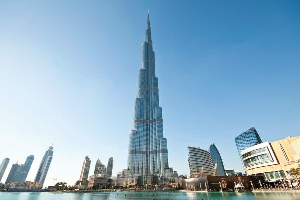 Бурдж-Халифа в Дубае, Объединенные Арабские Эмираты