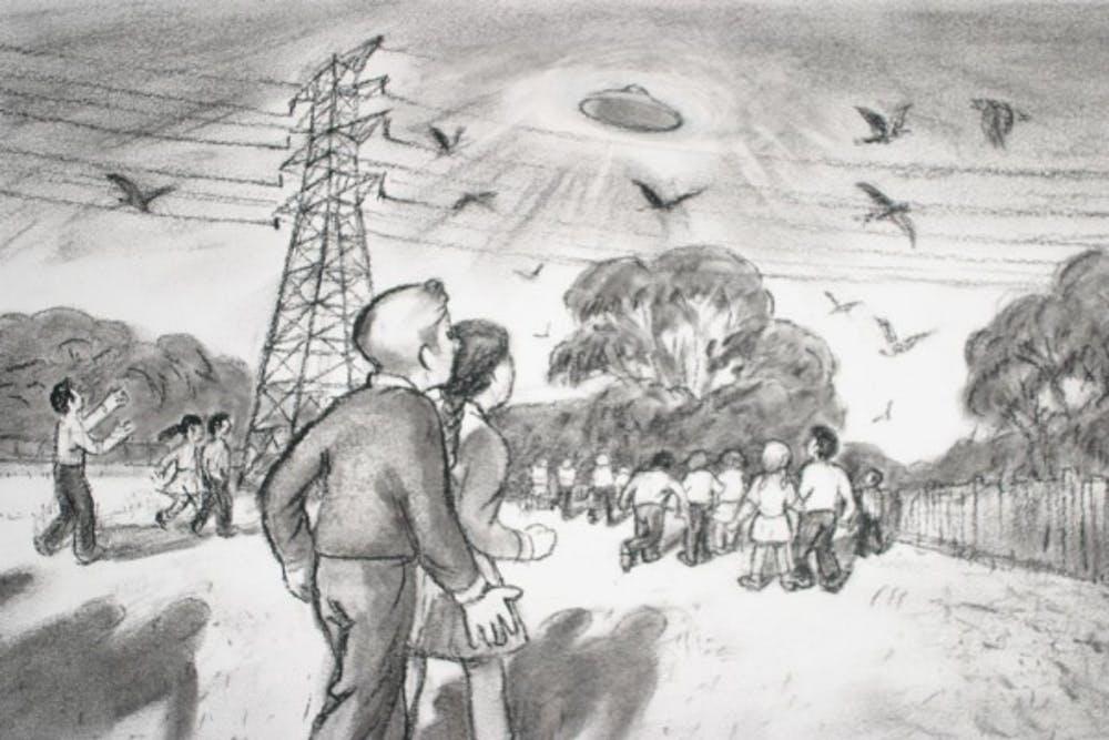 Австралия: Школьники, которые видели НЛО