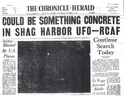 Канада: Инцидент с НЛО в Шег-Харборе