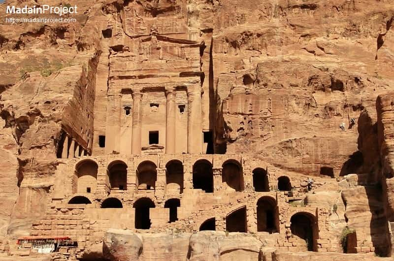 Царские гробницы Петры, Иордания
