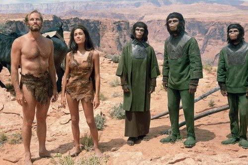Планета обезьян (1968) - США