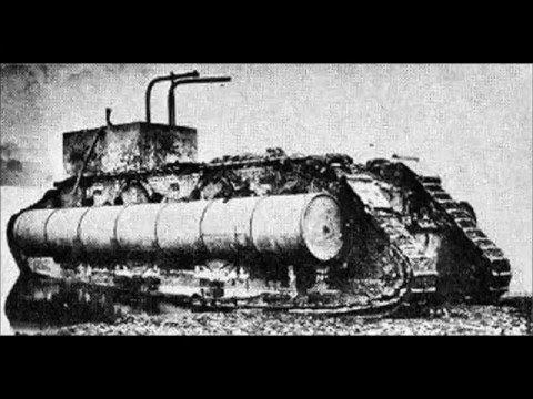 ВПЕРВЫЕ ТАНКИ ПОЯВИЛИСЬ НА ПОЛЕ БОЯ У РЕКИ СУМА 15 СЕНТЯБРЯ 1916 ГОДА