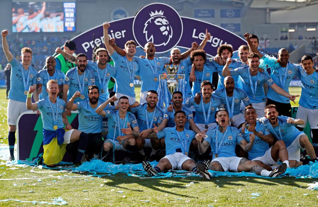 Манчестер Сити - двадцать трофеев