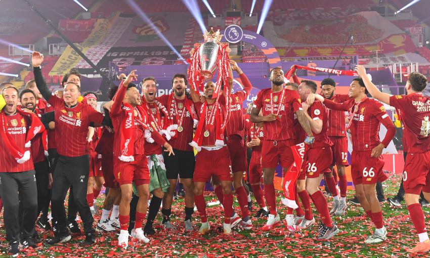 Ливерпуль - сорок три трофея