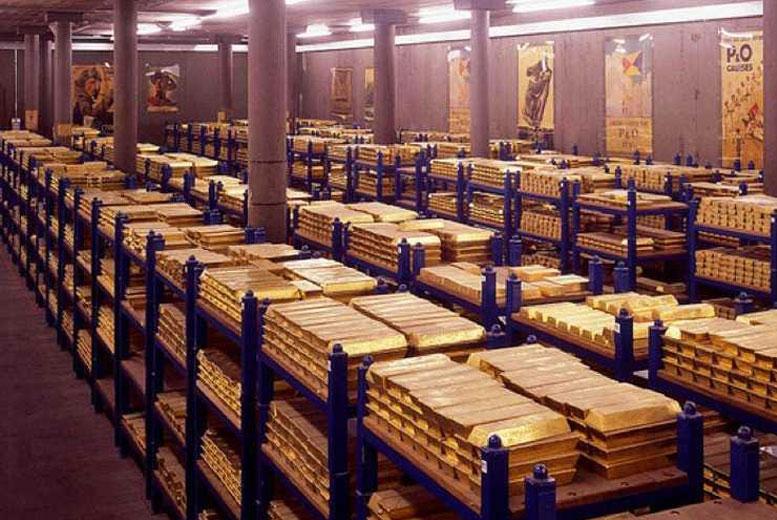 Топ-10 стран с самыми большими золотыми запасами