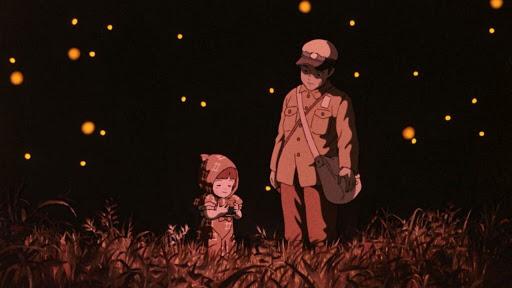 Могила светлячков (Япония, 1988)