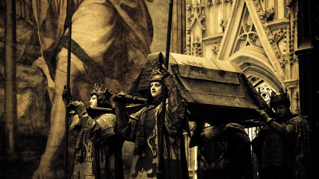 Христофор Колумб, Севилья, Испания