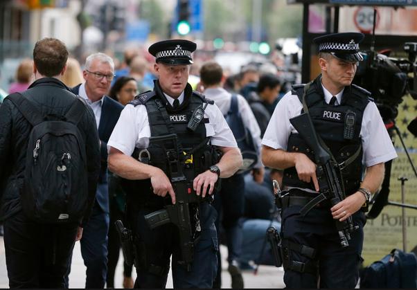 Полицейские
