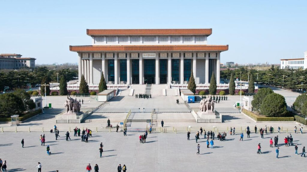 Мавзолей Мао Цзэдуна, Пекин, Китай