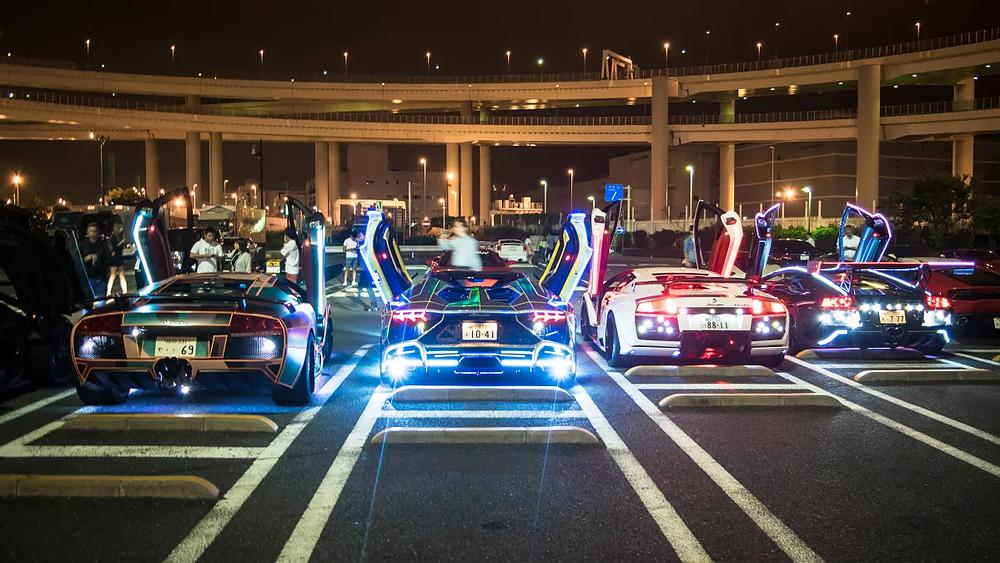 Некоторые авто-достопримечательности в Японии