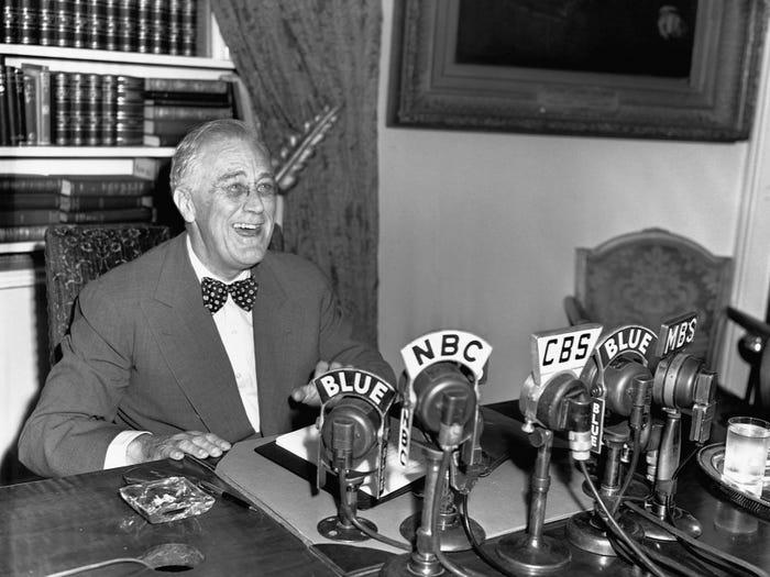 Франклин Делано Рузвельт сообщает, что немецкая оккупация Рима закончилась (1944 год)