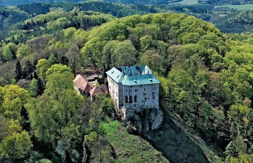 Замок Гоуска, Блатце, Чехия