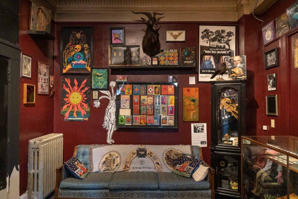 Музей колдовства и магии Бакленда, Кливленд, Огайо, США