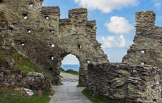 Замок Тинтагель, Корнуолл, Англия