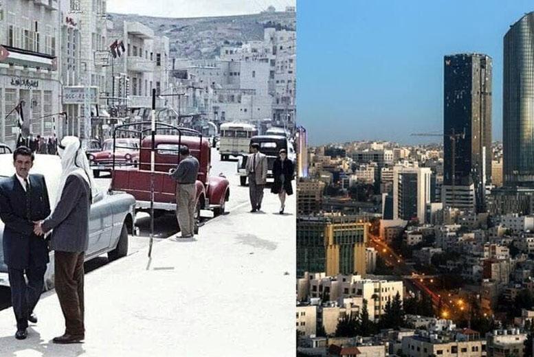 Как изменились Иордания, Кувейт и другие страны с течением времени