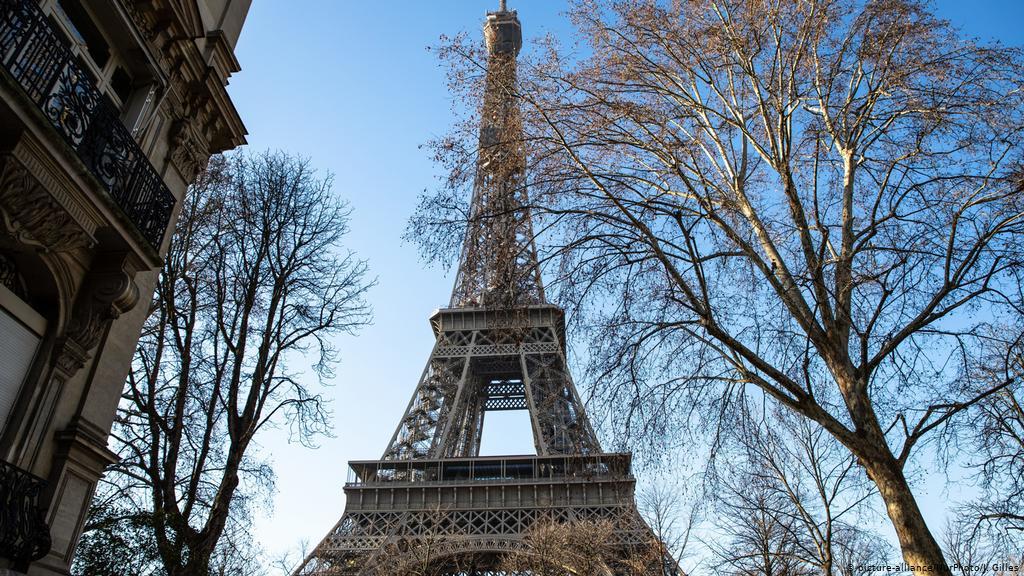 Эйфелева башня - Париж (Франция)
