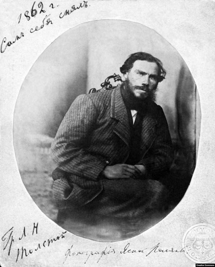 Толстой в 1862 году.