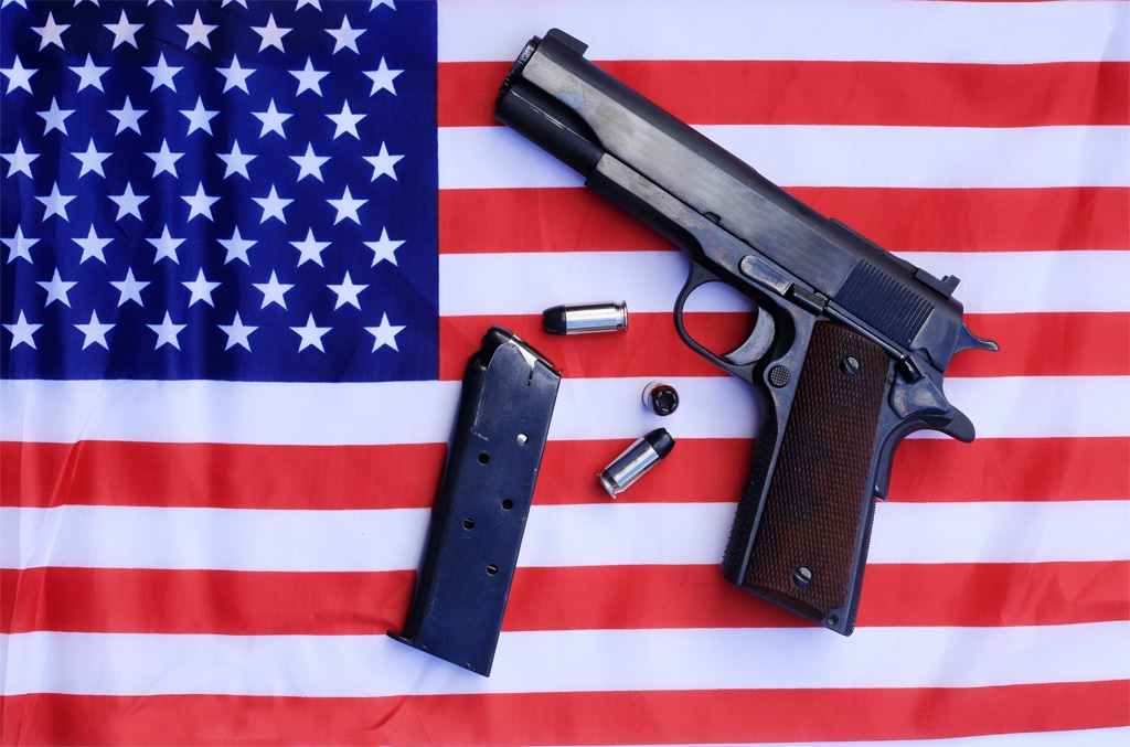 В Америки оружия больше, чем людей