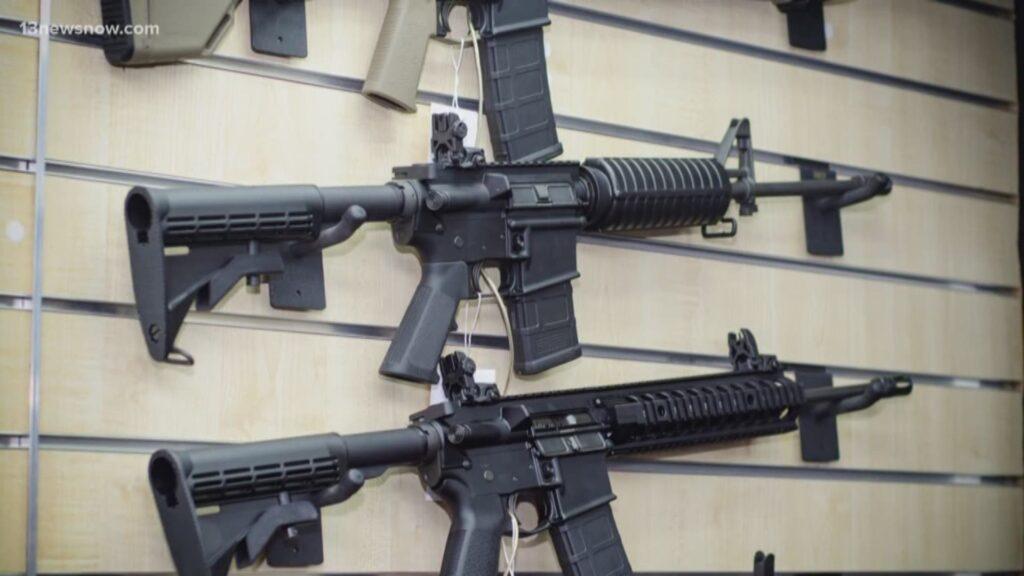 В 7 штатах и округе Колумбия действует запрет на владение штурмовым оружием