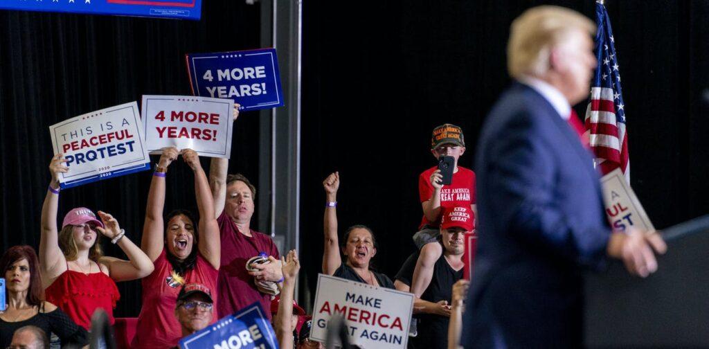 Загадка в том, как треть электората поддалась на увещевания Трампа?