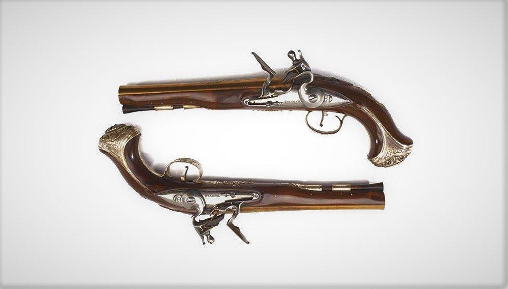 Пистолеты президента Джорджа Вашингтона проданы за $2 млн