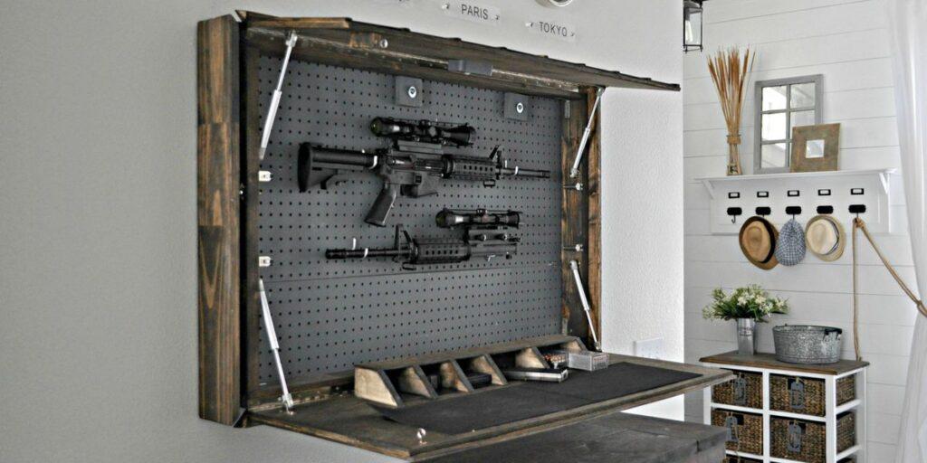 39% родителей думают, что их дети не знают, где они хранят оружие