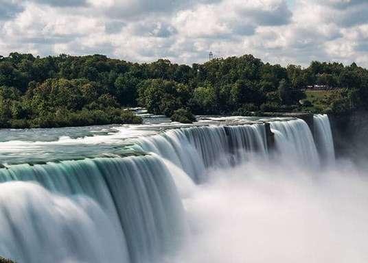 Ниагарский водопад - Нью-Йорк (США)
