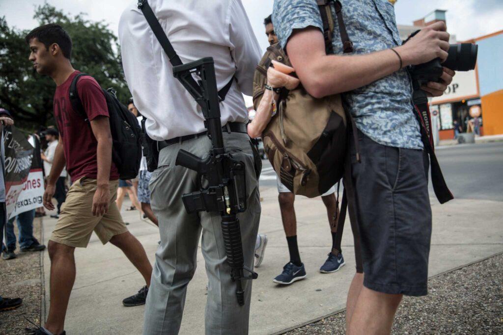Пять штатов разрешают учащимсяносить скрытое оружие