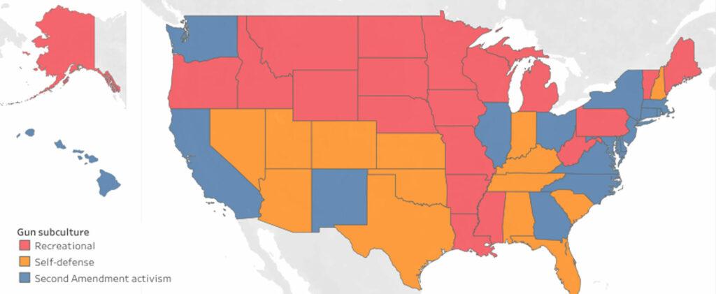 В штатах с самыми строгими правилами в отношении оружия меньше смертей от него