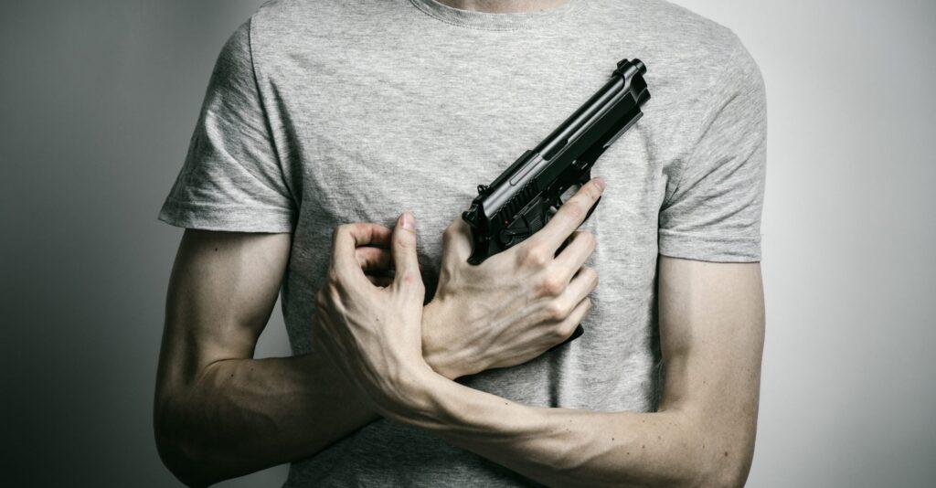 Чем больше оружия - тем больше самоубийств