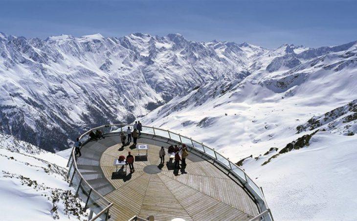 Зёльден, Австрия: высокие вершины и панорамные виды
