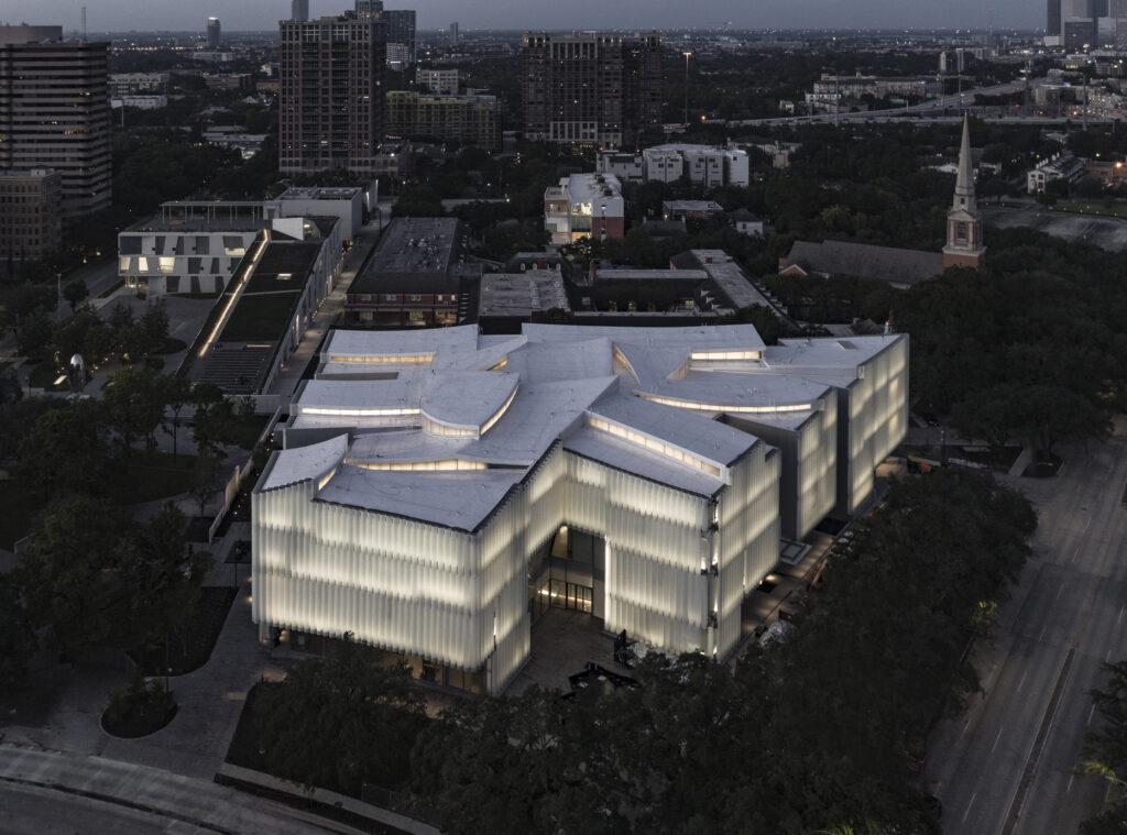 Киндер Билдинг в Хьюстонском музее изящных искусств в США