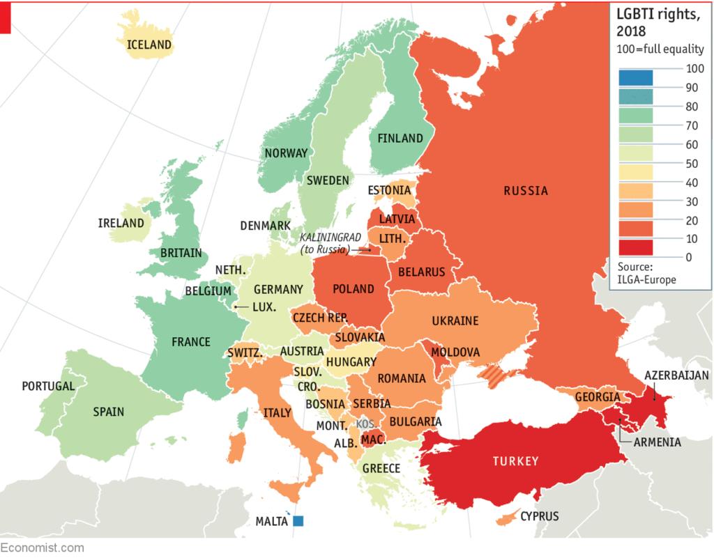 Европа добилась наибольшего прогресса