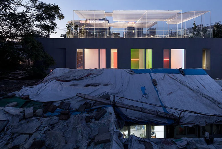 Художественная галерея Baitasi Hutong в Китае