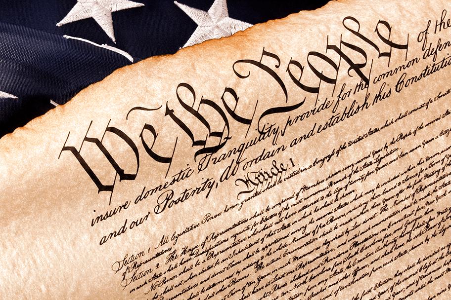 Шаг пятый - Принятие Конституции США