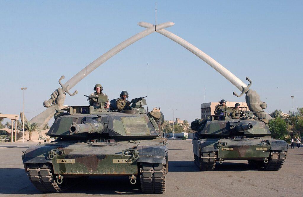 США вторгаются в Ирак