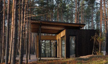 Новый экологичный загородный отель в Карелии