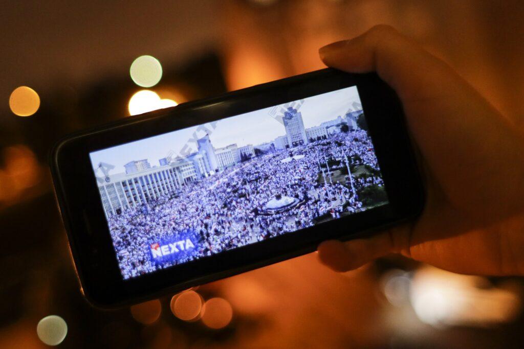 Telegram-каналы сыграли решающую роль в информировании мира о волнениях в Белоруссии