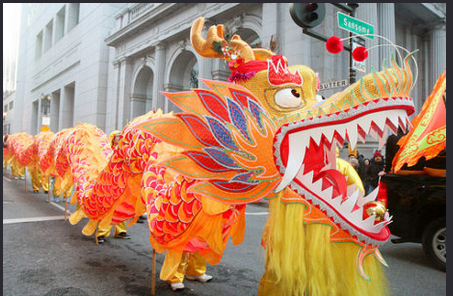 Танец дракона - Китай