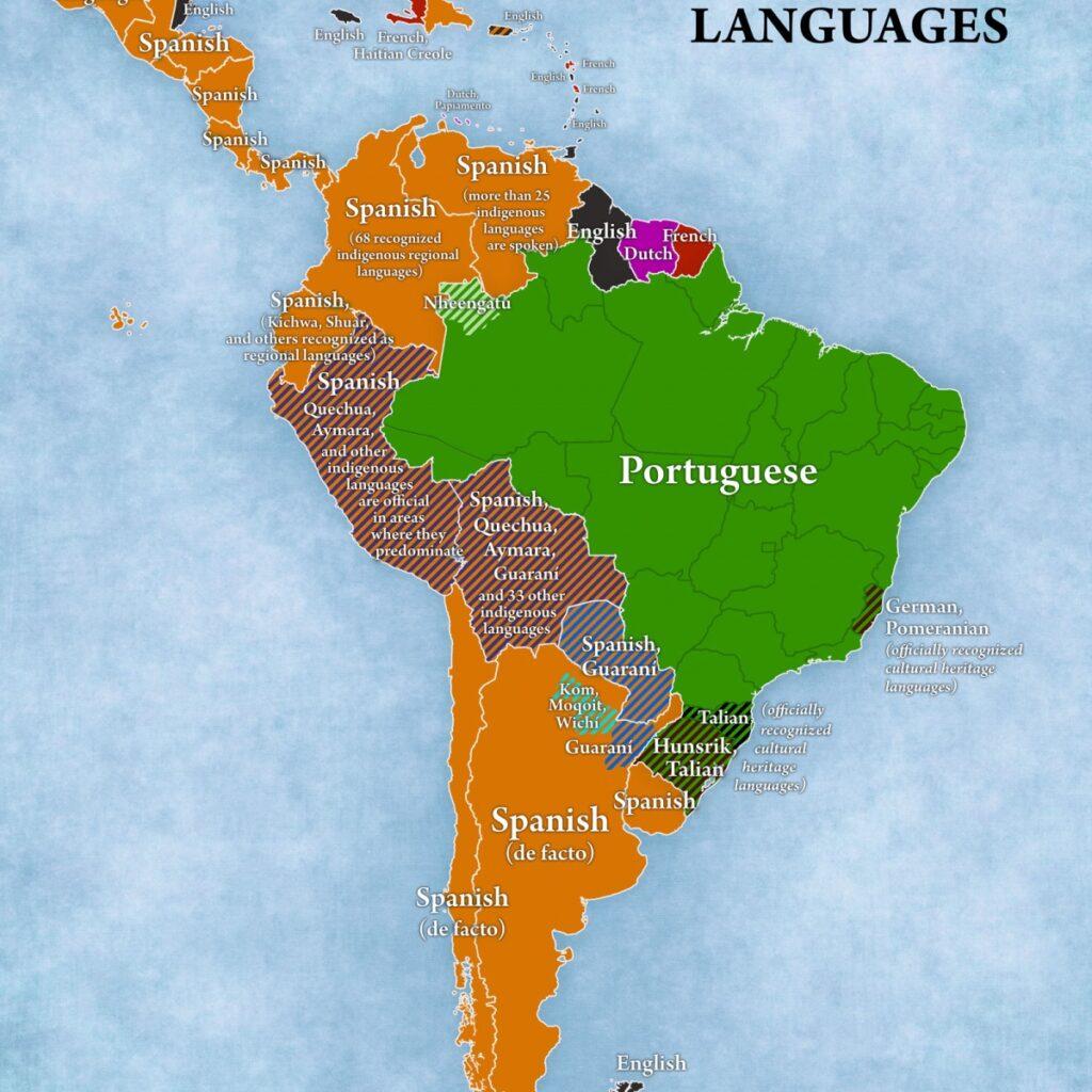 12 стран, но сотни языков