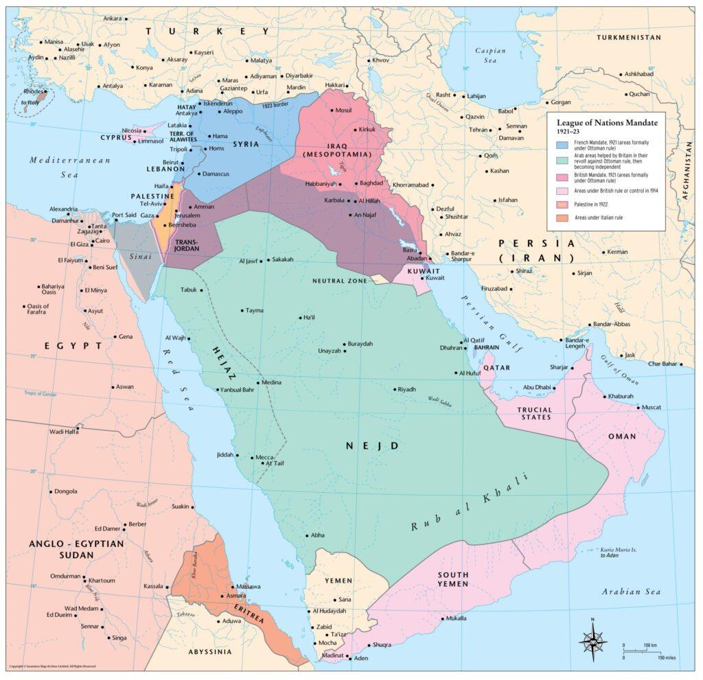 Создание государства Ирак