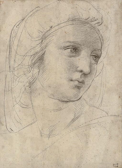 """Рафаэль, """"Голова музы"""" (ок. 1510)"""