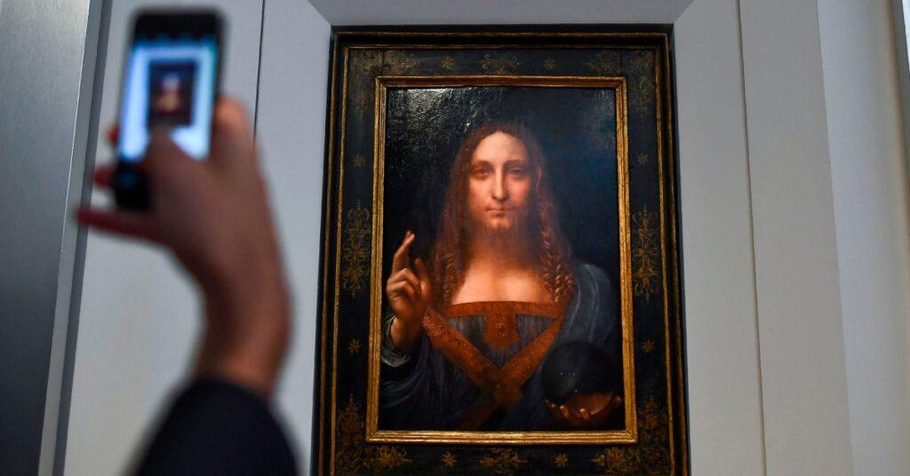 "Леонардо да Винчи, ""Спаситель мира"" (ок. 1499)"