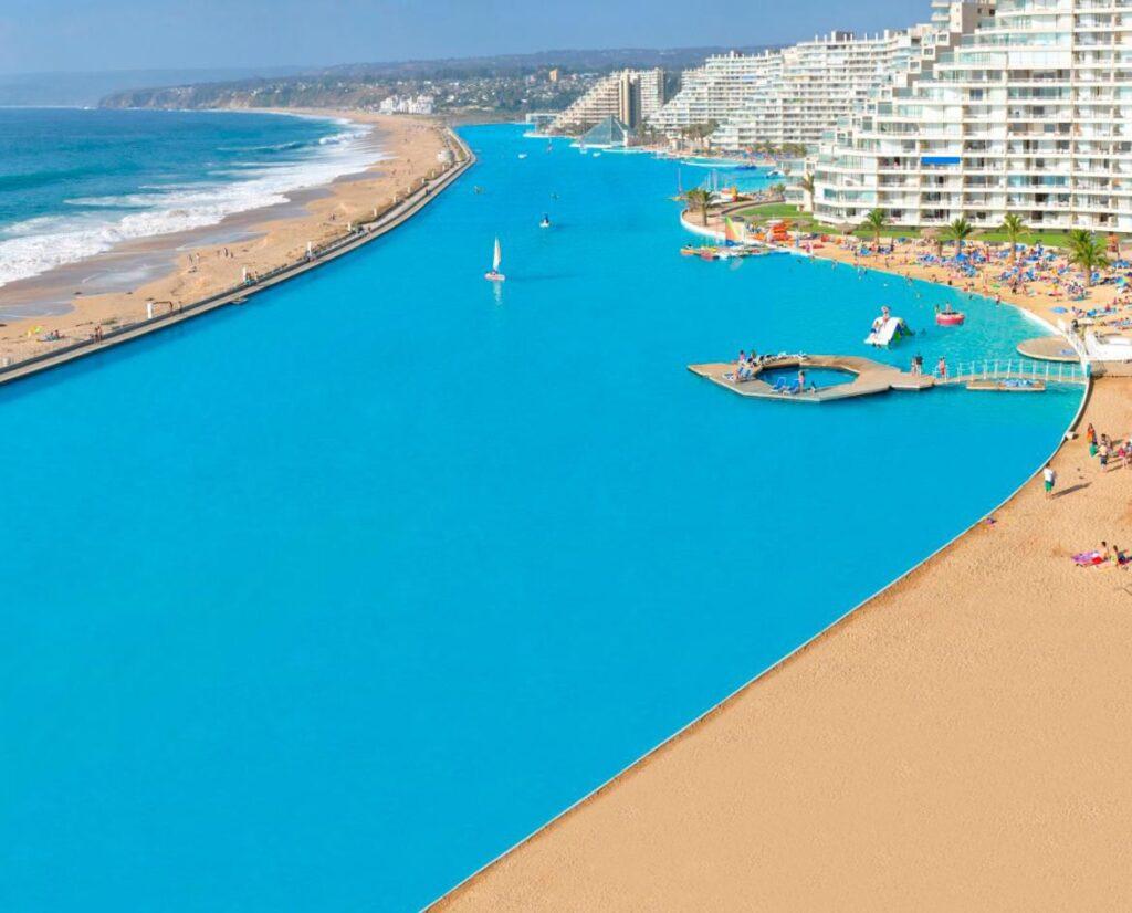 Второй по величине бассейн в мире, Чили